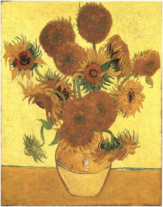still-life-vase-with-fifteen-sunflowers