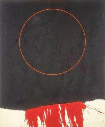 gustavo-torner-negro-blanco-rojo-con-circulo-rojo-1963