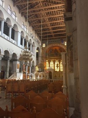 St. Demetrios church interiors