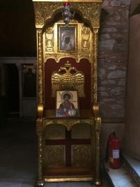 Byzantine Eagle at the Church St. Demetrios