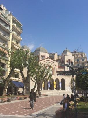 Byzantine era church in Thessaloniki
