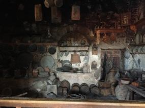 Monastery kitchen, Meteora