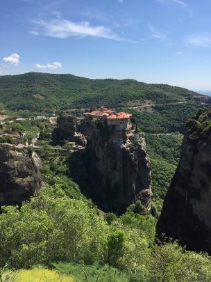 Monasteries above the rocks