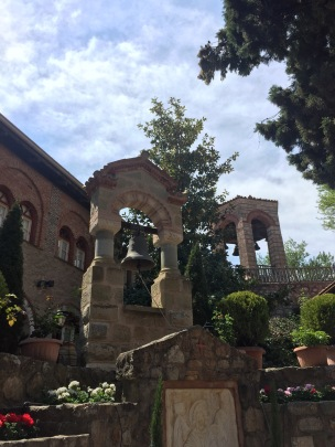 Grand Meteoron courtyard
