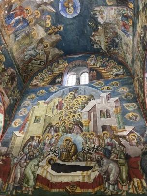 Peribleptos church mosaics