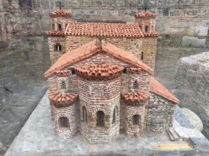 Model of the Hagia Sophia of Ohrid